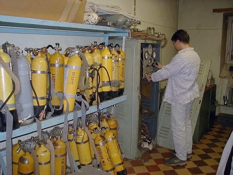 Отечественные акваланги