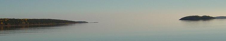 Белое море, октябрь 2007