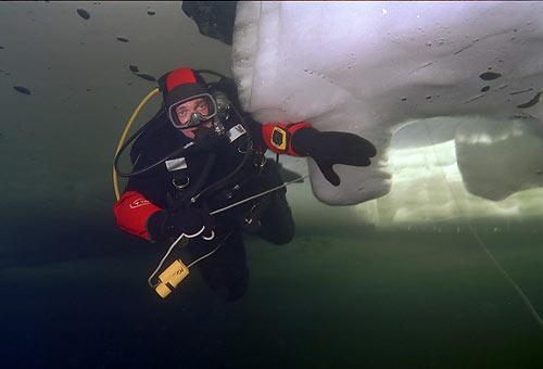 Ice Diving - Дайвинг подо льдом