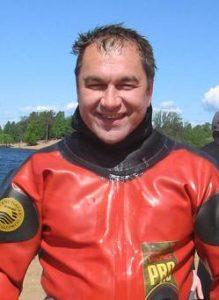 Андрей Левочский, инструктор нашего клуба, курс-директор (специалист, который обучает до уровня инструктора)