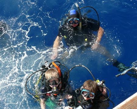 Погружение под воду. Красное море, ноябрь 2009 года