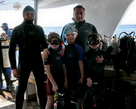 Собираемся с детьми под воду