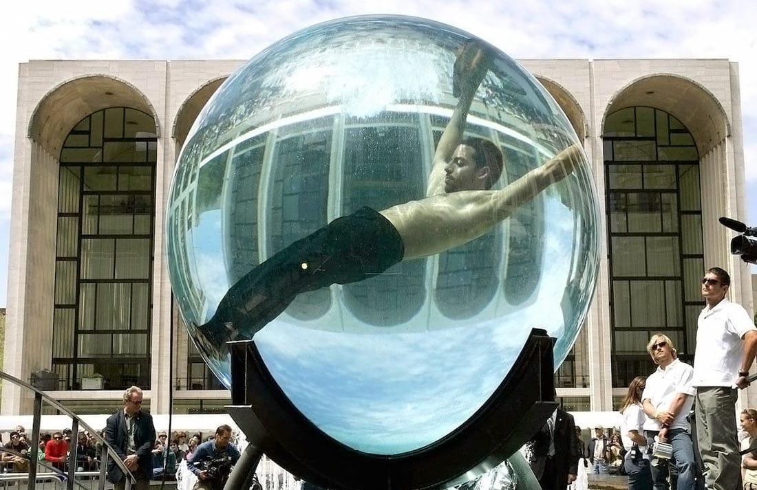 Дэвид Блэйн Уайт - рекорд под водой