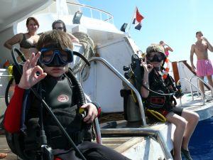 Поездка клуба подводного плавания