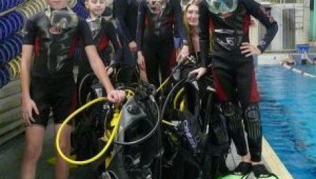 Образована Детско-юношеская школа подводного спорта – ДЮШПС