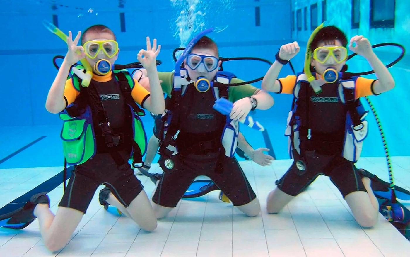 здоровье ребенка и подводное плавание